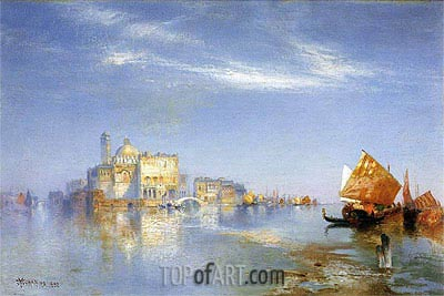 View of Venice, 1892 | Thomas Moran | Painting Reproduction