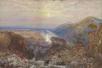 View of the Susquehanna, undated | Thomas Moran| Painting Reproduction