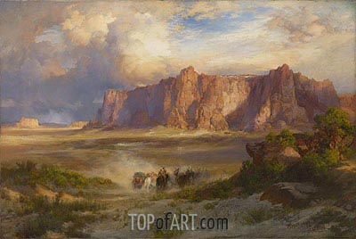 Acoma, 1902 | Thomas Moran | Painting Reproduction