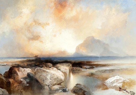 Seascape, 1924 | Thomas Moran | Painting Reproduction