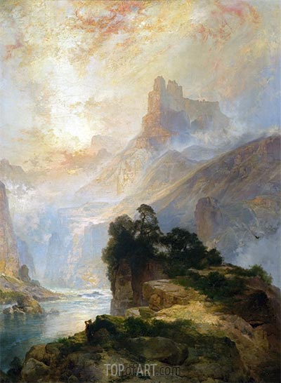 The Glory of the Canyon, 1875 | Thomas Moran | Painting Reproduction