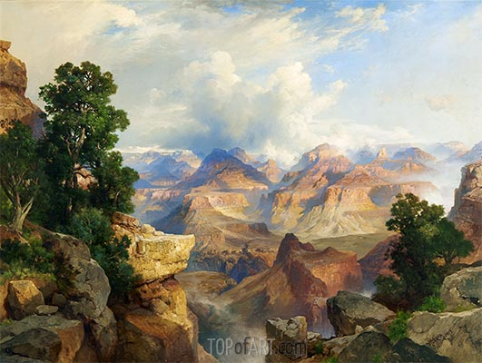The Grand Canyon, 1913 | Thomas Moran | Painting Reproduction