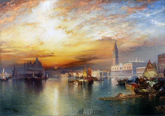 Canal Grande, Venedig, 1898 | Thomas Moran | Gemälde Reproduktion