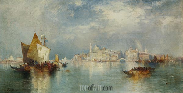 Venice, 1900 | Thomas Moran | Painting Reproduction