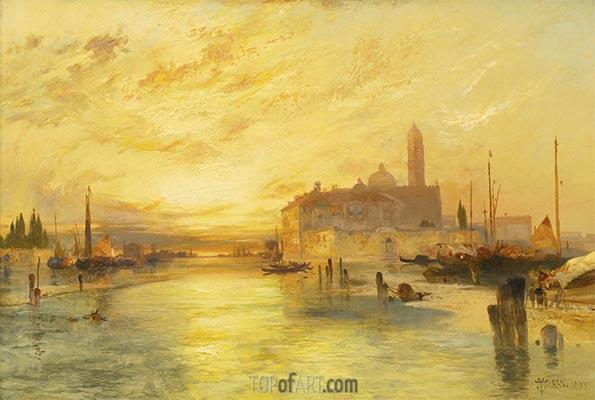Venice, 1890   Thomas Moran   Painting Reproduction