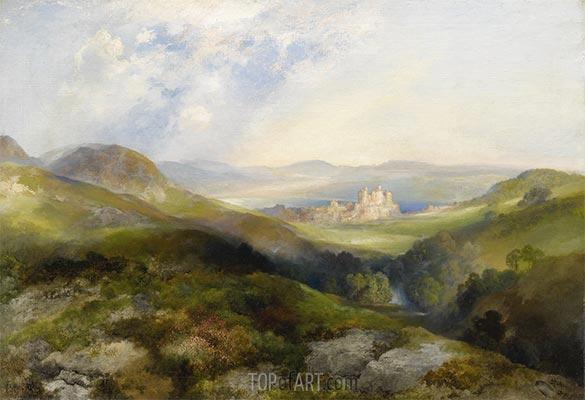 Conway Castle, 1917   Thomas Moran   Painting Reproduction