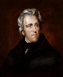 Andrew Jackson, c.1857 by Thomas Sully | Painting Reproduction
