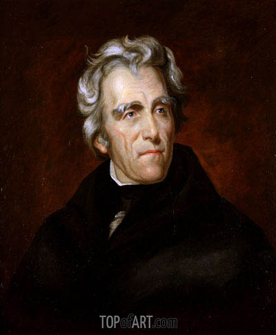 Andrew Jackson, c.1857 | Thomas Sully | Painting Reproduction