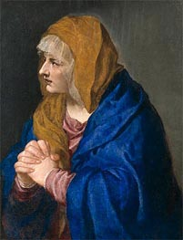 Mater Dolorosa, 1554 by Titian | Painting Reproduction