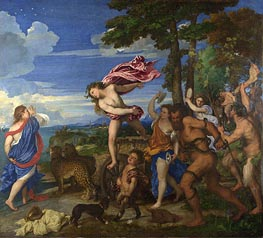 Bacchus and Ariadne | Titian | outdated