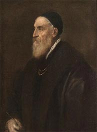 Self Portrait, c.1560 by Titian | Painting Reproduction