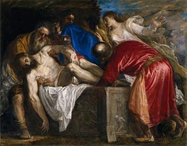 The Burial of Christ, 1559 by Titian | Painting Reproduction