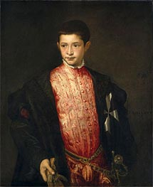 Ranuccio Farnese | Titian | outdated