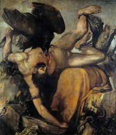 Ticius, c.1548/49 by Titian | Painting Reproduction