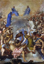 Glory, c.1551/54 by Titian | Painting Reproduction