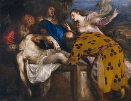 The Burial of Christ, 1572 by Titian | Painting Reproduction
