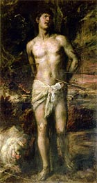 Saint Sebastian, c.1570 by Titian | Painting Reproduction