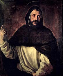 St. Dominic, 1565 by Titian | Painting Reproduction