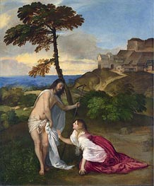 Noli me Tangere, c.1514 by Titian | Painting Reproduction