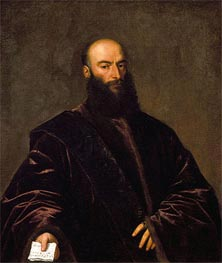 Portrait of Giacomo Dolfin, 1533 by Titian | Painting Reproduction