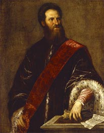 Nicolo Zen, undated by Titian | Painting Reproduction