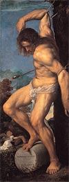 The Martyrdom of St. Sebastian (Averoldi Polyptych), 1522 by Titian | Painting Reproduction