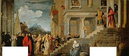Presentation of the Virgin (Presentation of Mary in the Temple) | Titian | outdated