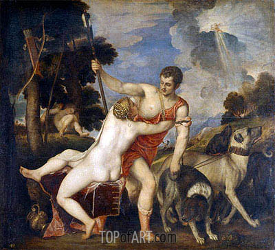 Titian | Venus and Adonis, c.1553/54