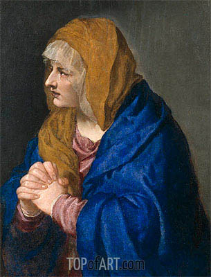 Mater Dolorosa, 1554 | Titian | Painting Reproduction