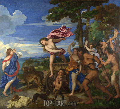 Titian | Bacchus and Ariadne, c.1520/23