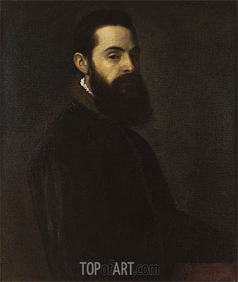 Titian | Portrait of Antonio Anselmi, c.1550