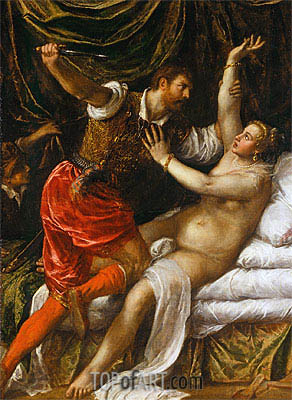 Titian | Tarquin and Lucretia, c.1571