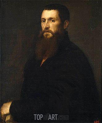 Titian | Daniello Barbaro, Patriarch of Aquileya, c.1545