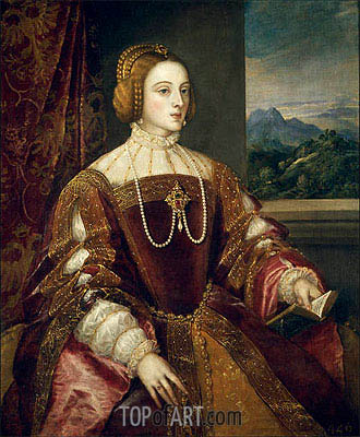 Titian | Empress Isabel of Portugal, 1548