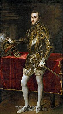 Titian | Felipe II, c.1550/51