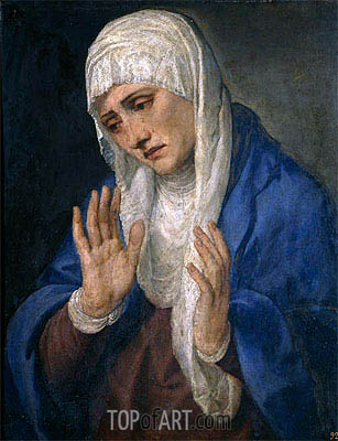 Mater Dolorosa, 1555 | Titian | Painting Reproduction