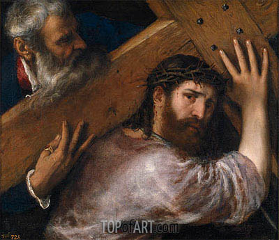 Christ and the Cyrenian, 1547 | Titian| Painting Reproduction