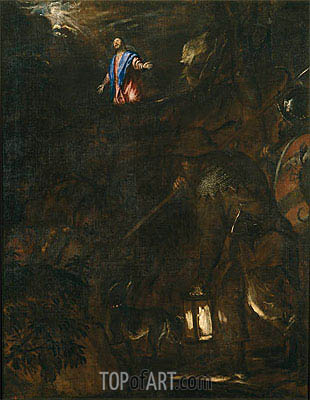Titian | Agony in the Garden, 1562