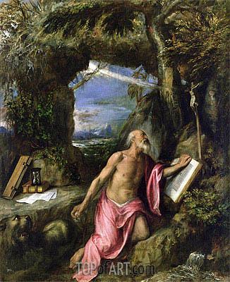 Titian | St. Jerome, Undated