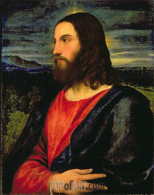 Christ the Redeemer, c.1532/34 | Titian | Gemälde Reproduktion