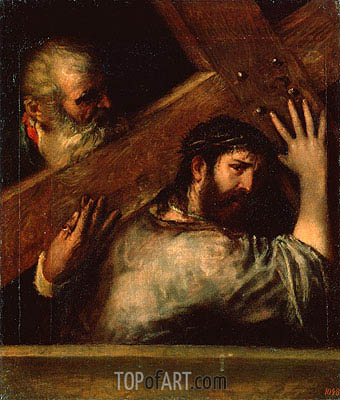 Carrying of the Cross, c.1560/70 | Titian | Gemälde Reproduktion