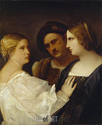 The Appeal,  | Titian | Painting Reproduction