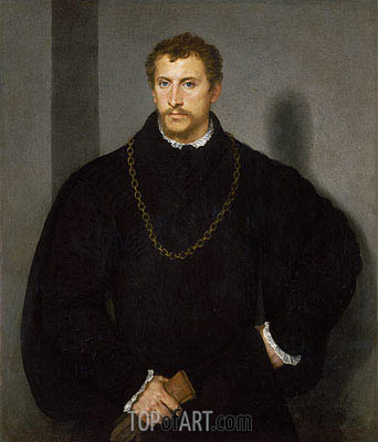 Titian | The Englishman (The Man with Grey Eyes),