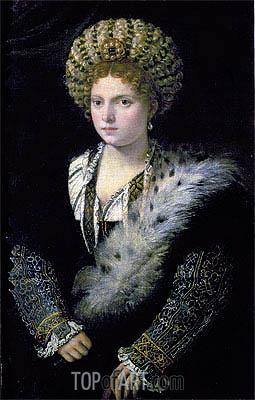 Titian | Portrait of Isabella d'Este, c.1534/36