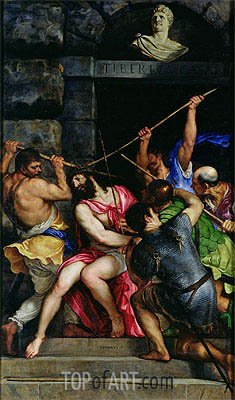 The Crowning with Thorns, c.1540/42 | Titian | Gemälde Reproduktion