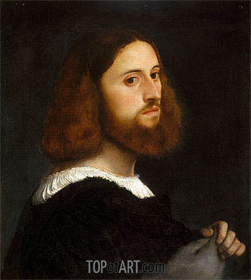Portrait of a Man, c.1515 | Titian | Painting Reproduction