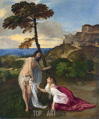 Noli me Tangere, c.1514 | Titian | Painting Reproduction