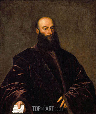 Portrait of Giacomo Dolfin, 1533 | Titian | Painting Reproduction