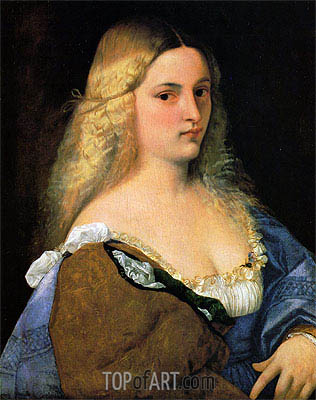 Violante, c.1510/15 | Titian | Painting Reproduction