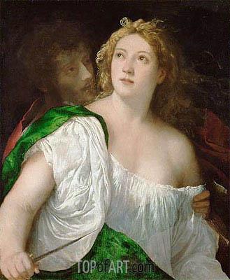 Titian | Suicide of Lucretia, c.1515